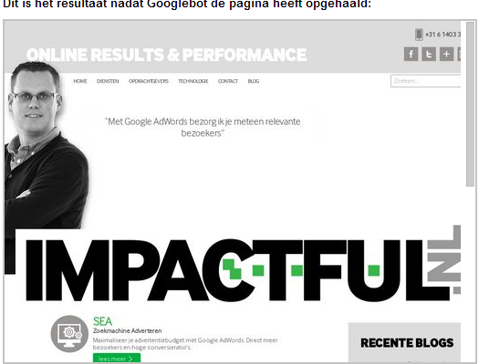 Fetchen als Google, de meest onderbenutte tool in GWT