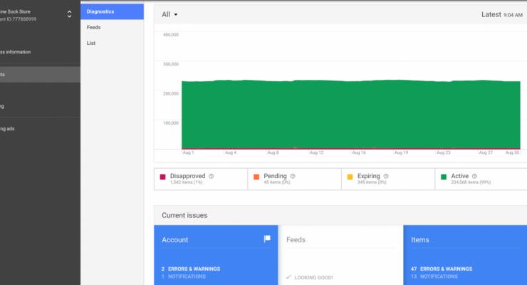 Google lanceert nieuwe versie Merchant Center